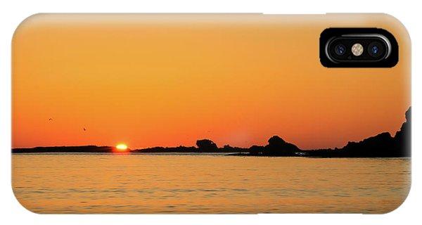 Sunset Over Sunset Bay, Oregon 4 IPhone Case