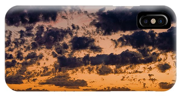 Sunset Over The Indian Ocean IPhone Case