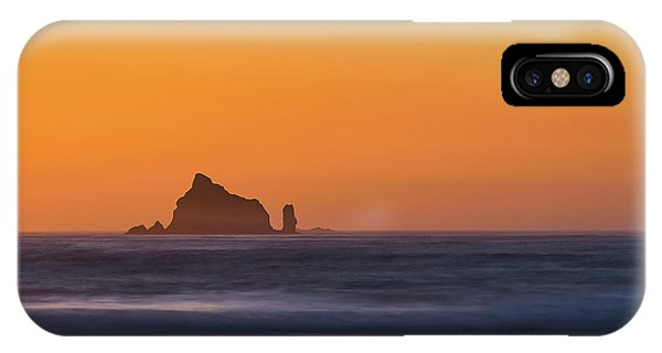 Sunset Over The Pacific IPhone Case