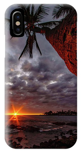 Sunset Palm IPhone Case