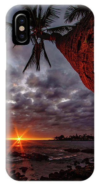 Sunset Palm IPhone Case