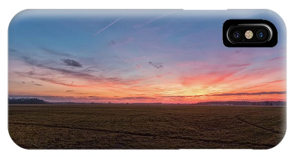 Sunset Pastures IPhone Case