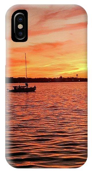 Sunset Sail IPhone Case