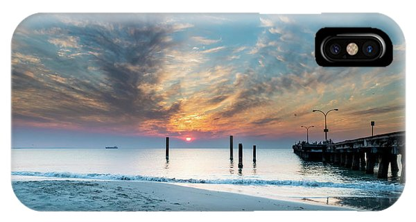 Sunset Seascape And Beautiful Clouds IPhone Case