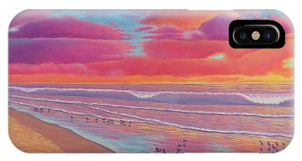 Sunset Shore IPhone Case