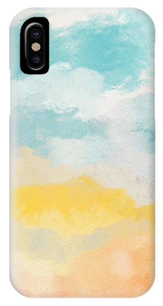 Sky iPhone Case - Sunshine Day- Art By Linda Woods by Linda Woods