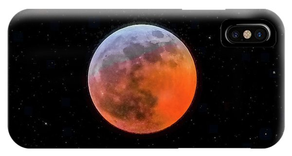Super Blood Moon Eclipse 2019 IPhone Case