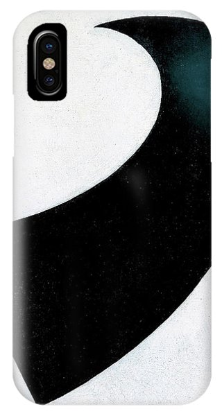 Russian Impressionism iPhone Case - Suprematism 1917 - Digital Remastered Edition by Kazimir Severinovich Malevich