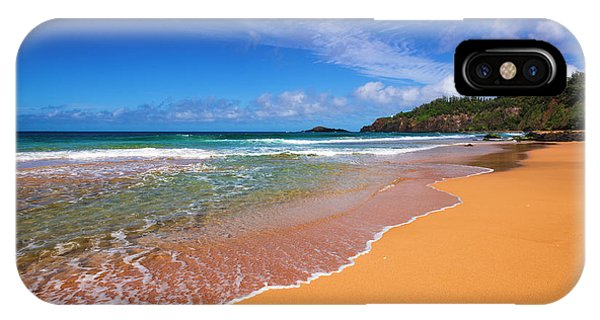 Surf And Sand On Secret Beach (kauapea Phone Case by Russ Bishop