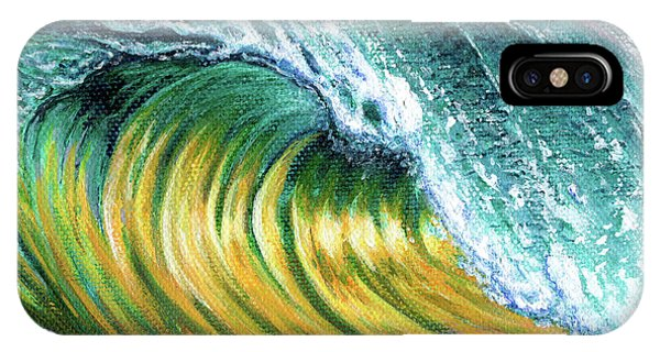 Surf Into The Sunset IPhone Case