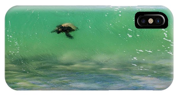 Surfing Turtle IPhone Case