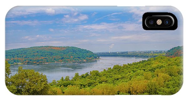 iPhone Case - Susquehanna River In Autumn by Bill Cannon