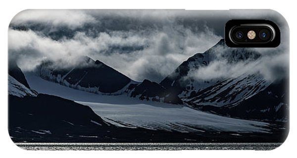 Svalbard Mountains IPhone Case