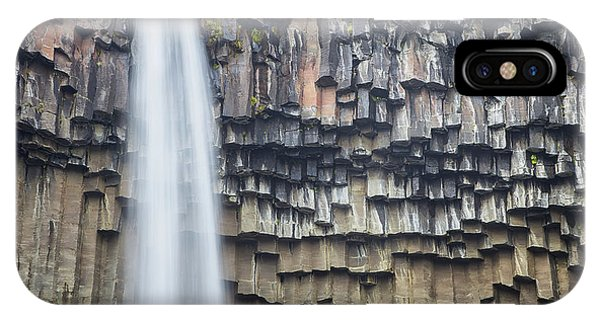 IPhone Case featuring the photograph Svartifoss Portrait Iceland by Nathan Bush