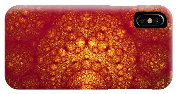IPhone Case featuring the digital art Swallowed by Jeff Iverson