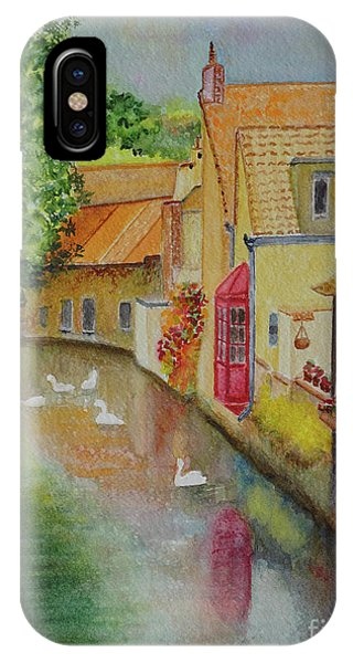 Swan Canal IPhone Case