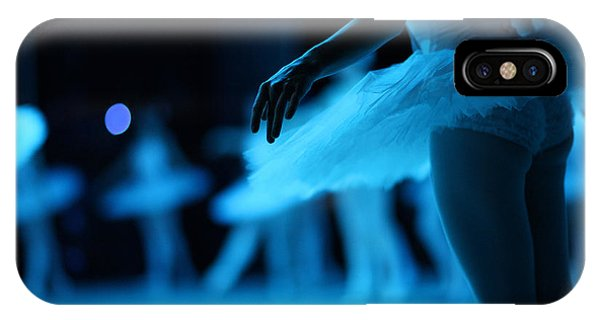 Swan iPhone Case - Swan Lake Ballet by Anna Jurkovska