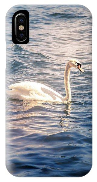 Swan iPhone Case - Swan by Nicklas Gustafsson