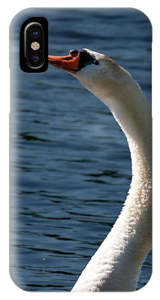 IPhone Case featuring the photograph Swan's Neck by Onyonet  Photo Studios