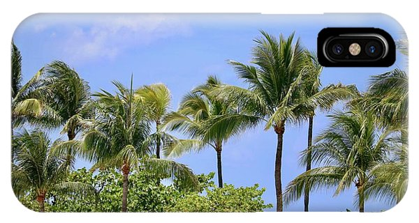 iPhone Case - Swaying Palm Trees by Carol Groenen