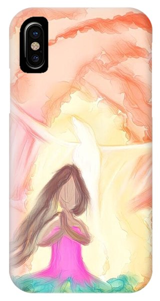 Sweet Hour Of Prayer IPhone Case