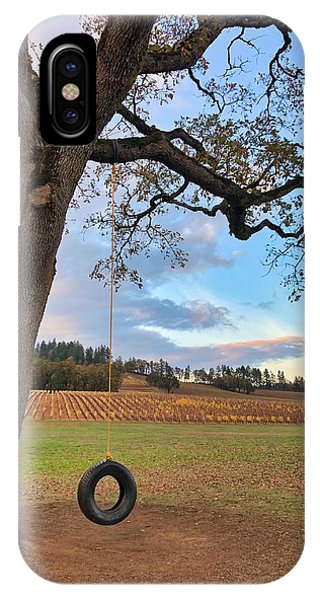 IPhone Case featuring the photograph Swing In Tree by Brian Eberly