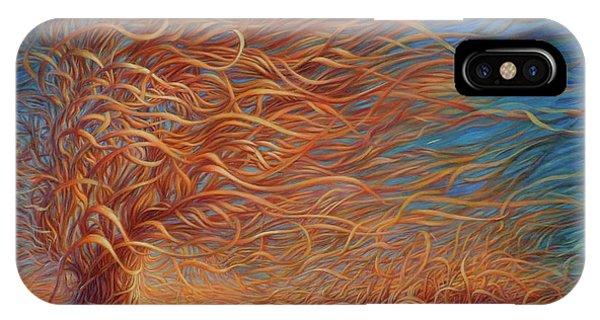 Swirly Tree 2 IPhone Case