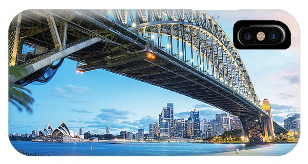 Nsw iPhone Case - Sydney, Australia. Amazing Skyline At by Pisaphotography