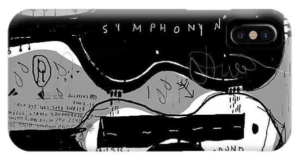 Symbolic Image Of The Box For A Musical Phone Case by Dmitriip