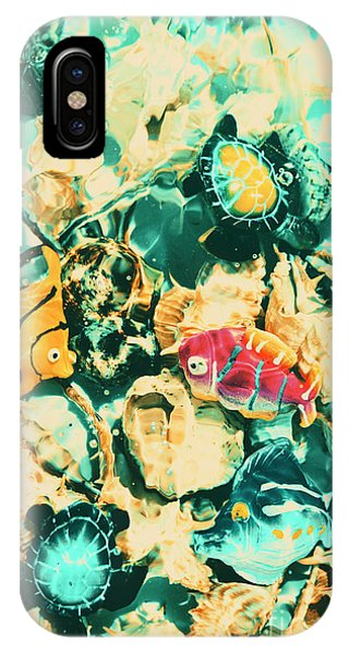 Aquatic iPhone Case - Synthetic Seas by Jorgo Photography - Wall Art Gallery