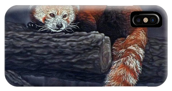 Takeo, The Red Panda IPhone Case