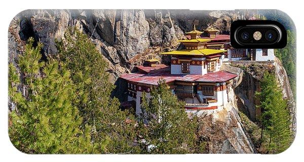 Taktsang Monastery  IPhone Case