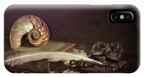 Plumes iPhone Case - Tales Of The Sea by Tom Mc Nemar