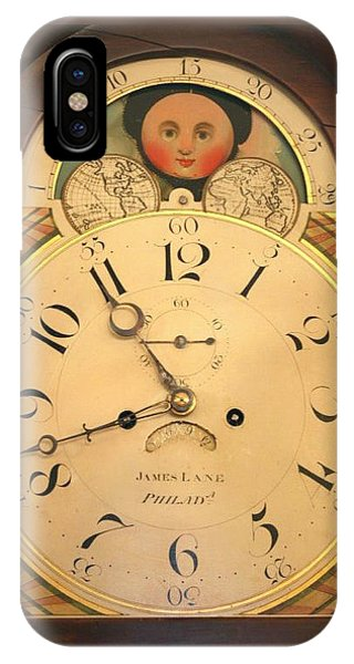 Tall Case Clock Face, Around 1816 IPhone Case