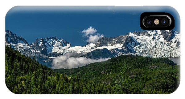IPhone Case featuring the photograph Tantalus Mountain Range by Jon Burch Photography