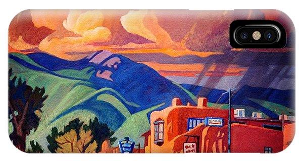 Taos Inn Monsoon IPhone Case