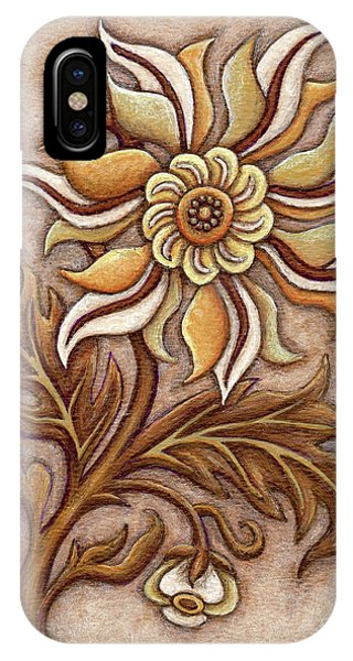 Tapestry Flower 1 IPhone Case