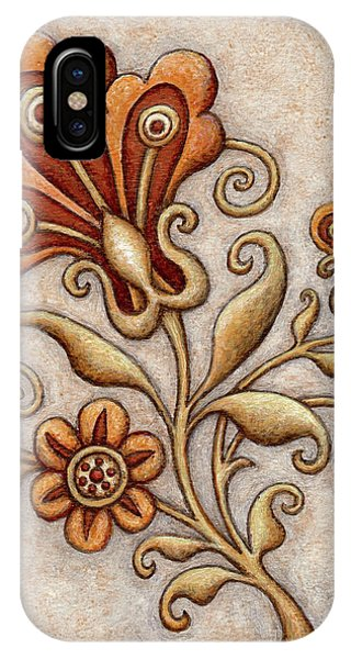 Tapestry Flower 3 IPhone Case