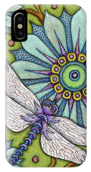 Tapestry Dragonfly IPhone Case