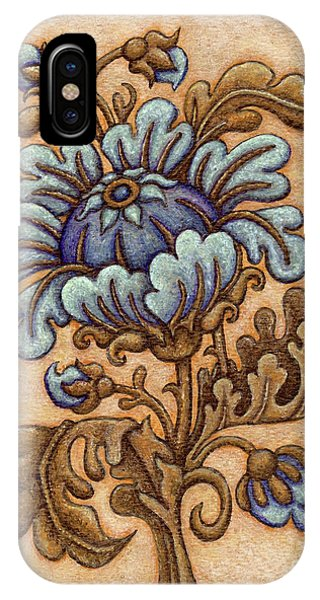 Tapestry Flower 5 IPhone Case