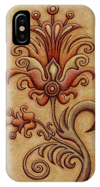 Tapestry Flower 7 IPhone Case