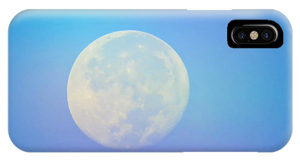 Taurus Almost Full Moon Blend IPhone Case