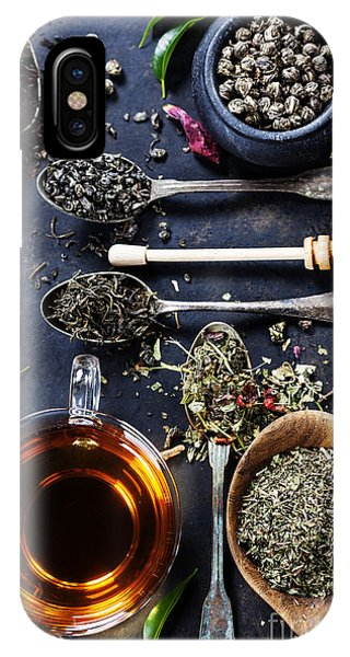 Culture iPhone Case - Tea Composition With Different Kind Of by Natalia Klenova