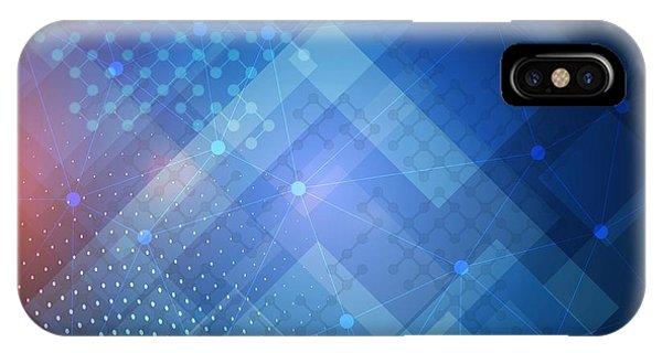 Techno 1 IPhone Case