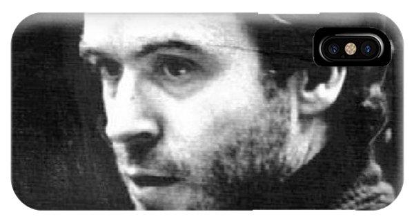 Ted Bundy iPhone Case - Ted Bundy Court by Eden OBrien