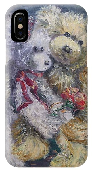 Teddy Bear Honeymooon IPhone Case