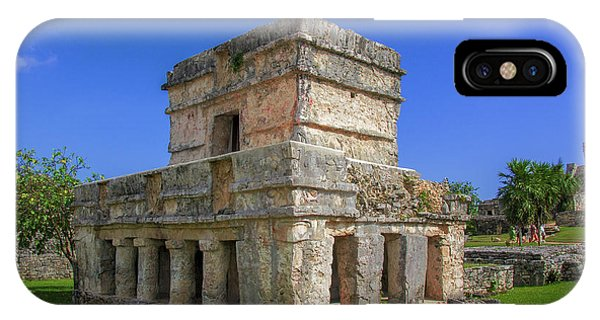 Temple Of The Frescoes IPhone Case