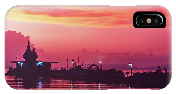 Temple On The Sea IPhone Case