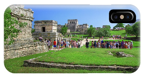 Temples Of Tulum IPhone Case