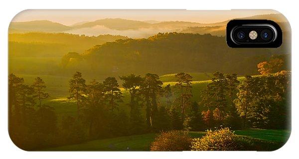 Smokey Mountain Sunrise IPhone Case